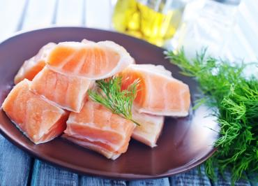 salmon with Omega 3